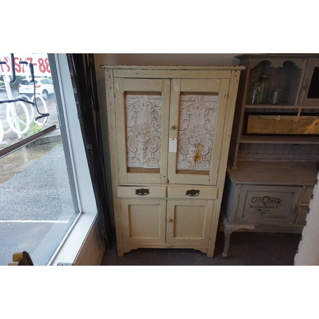 Shabby Chic Armoire - Image 2 of 4