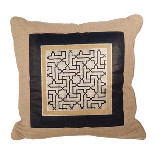 R. Lusk Designs Hand Painted Pillow