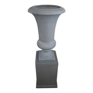 Westgate Urn & Pedestal - A Pair