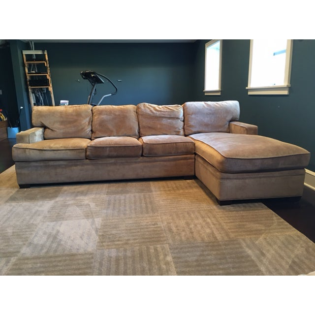 Stickley 2 Piece Sectional Sofa Chairish