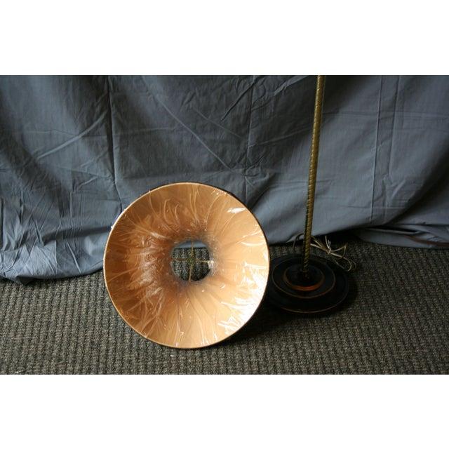 Modern Brass Floor Lamp - Image 7 of 10