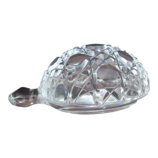 Waterford Crystal Turtle Paperweight