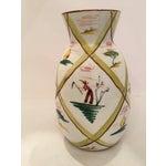 Image of Italian Majolica Donkey Vase