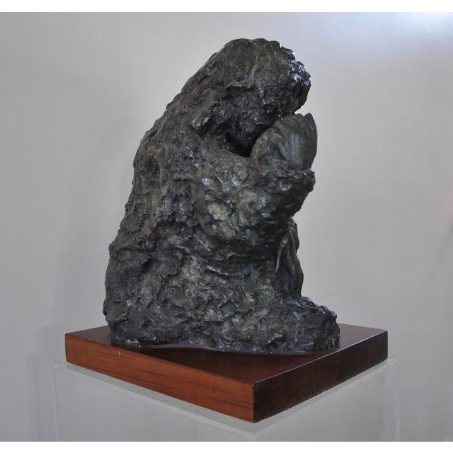 "Victor Salmones ""Madonna Con Nino"" Bronze Statue - Image 5 of 9"