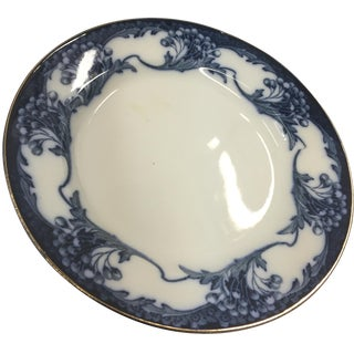 Late 19th C. Newport Pottery Flow Blue Plates - 6