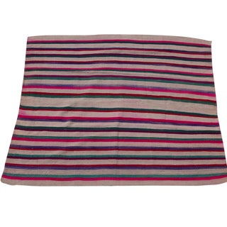 "Peruvian Wool Frazada Throw -- 5'2"" x 6'5"""