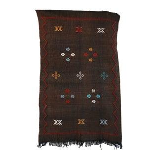 """Vintage Moroccan Cactus Silk Rug - 3'0"""" X 4'10"""""""