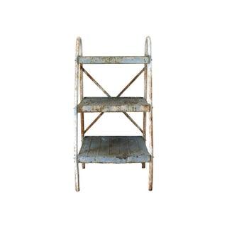 Antique Industrial Metal Shelves