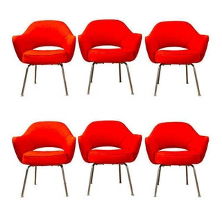 Saarinen Executive Armchairs - Set of 6