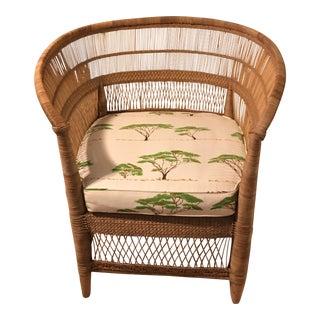 Custom African Malawi Chair