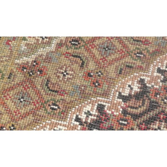 """Persian Tabriz Runner Rug - 6' x 2'7"""" - Image 3 of 4"""
