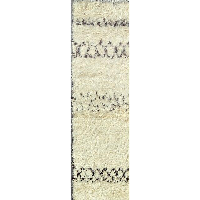 "Image of Moroccan Lamb's Wool Runner - 2'6"" X 12'0"""