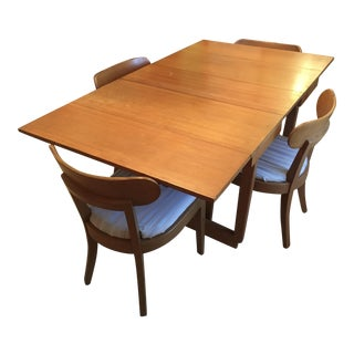 Edward Wormley Dining Table & Drexel Precedent Chairs