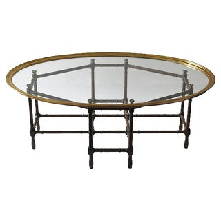 Baker Bamboo Coffee Table, 2 Pcs