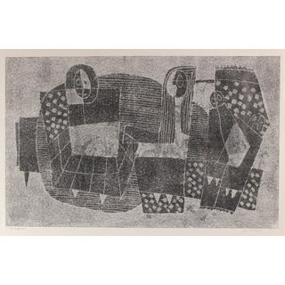 Jane Mitchell Interior Scene, Monotype