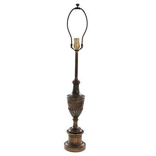 Art Deco Brass Stiffel Lamp