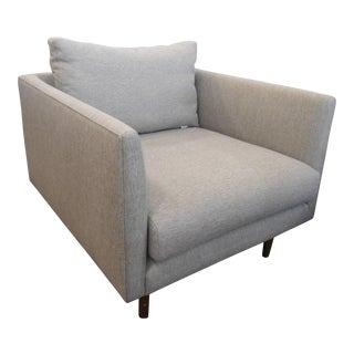 Mid-Century Style Gray Armchair