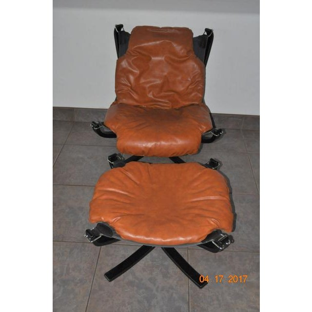 Falcon Chair and Ottoman Set - Image 4 of 8