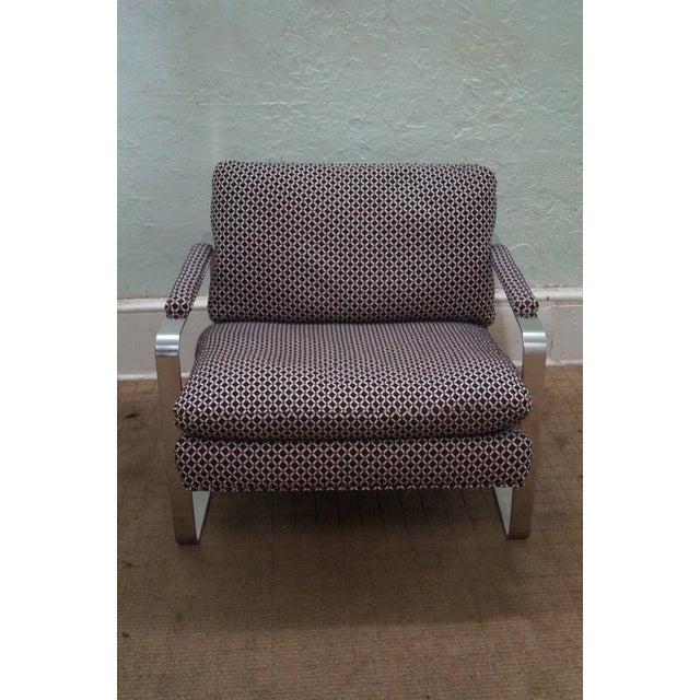 Bernhardt Flair Lounge Chair Milo Baughman Era - Image 2 of 10