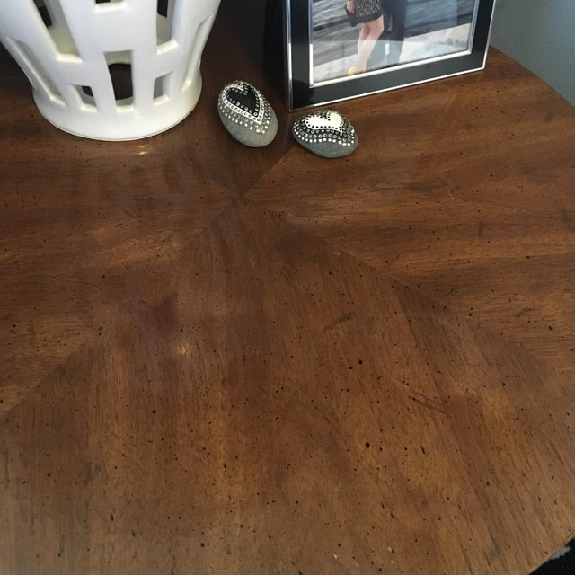 Round Drexel Table With Storage - Image 6 of 9