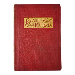 1800's Daily Food for Christians Daily Devotional Book