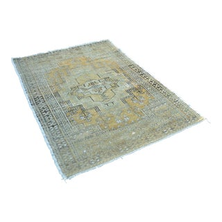"""Oushak Hand Knotted Tribal Rug - 48"""" x 70"""""""