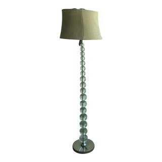 Pottery Barn Stacked Crystal Floor Lamp