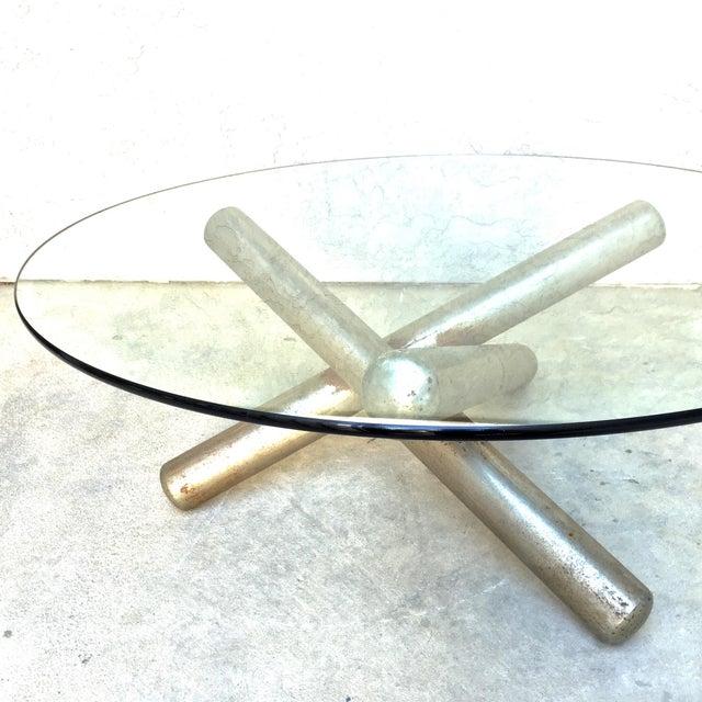 Milo Baughman Sculptural Tripod Coffee Table - Image 7 of 10