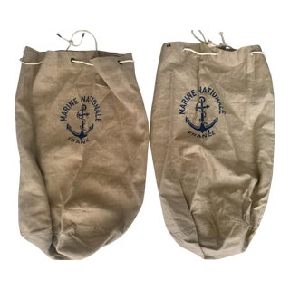 French Military Laundry Bags - A Pair