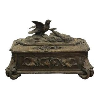 Antique Black Forest Box