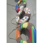 Image of Colorful Beachy Life Preserver Rings - Set of 3