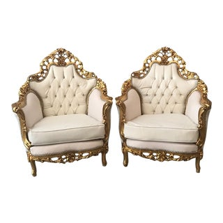Antique Italian Rococo Single One Chair