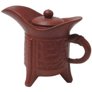 Ancient Chinese Zisha Clay Teapot