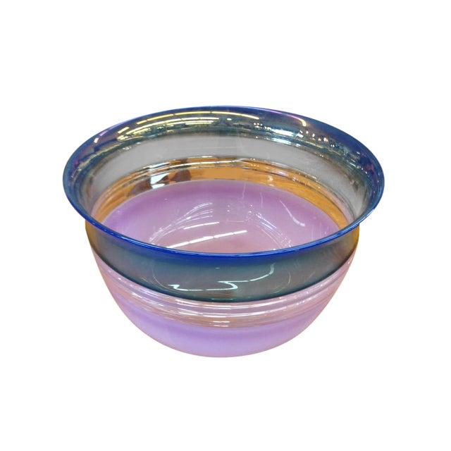 Image of Art Glass Display Bowl by Sonja Blomdah