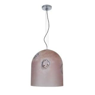 Scavo Murano Glass Pendant by Alfredo Barbini