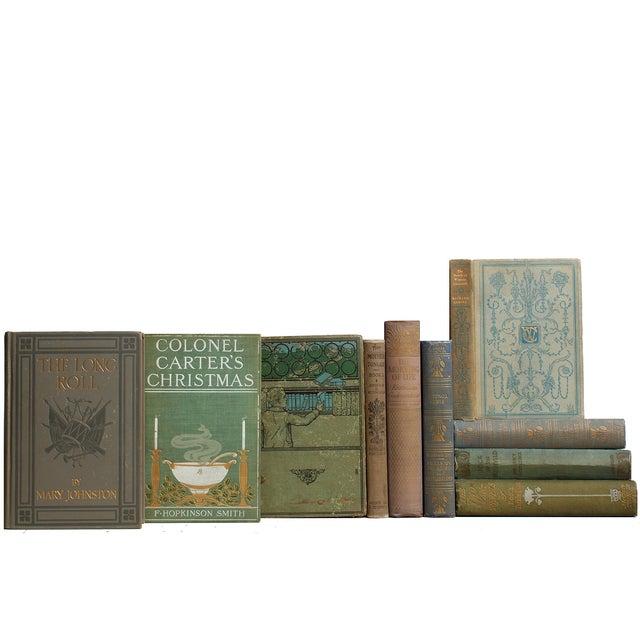 Image of Mid-Century Tan Novels - S/25