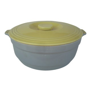 Vintage Hall Covered Ceramic Casserole