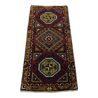 Turkish Oushak Doormat Rug - 1'9 X 3'9""