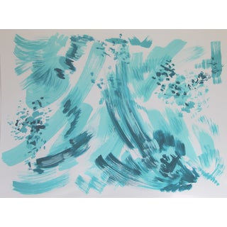 Spring Morning-Abstract Painting by Cleo
