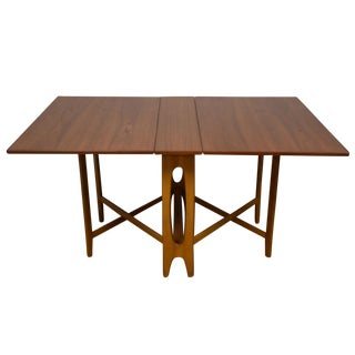 Drop-Leaf Dining Table by Bendt Winge