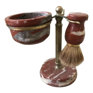 Vintage Marble Shaving Stand