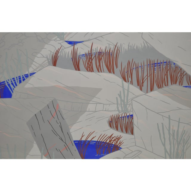 """Jeff Long """"Indian Wells"""" Painting C.1983 - Image 4 of 6"""