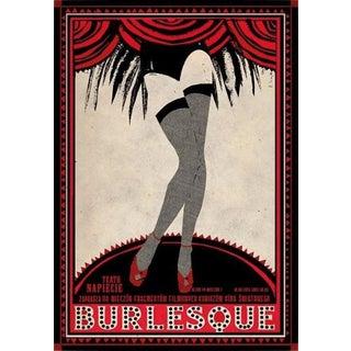 Contemporary 'Burlesque' Polish Poster