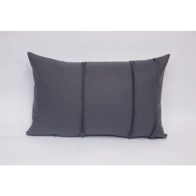 Wool Felt & Canvas Pillow - Image 2 of 4