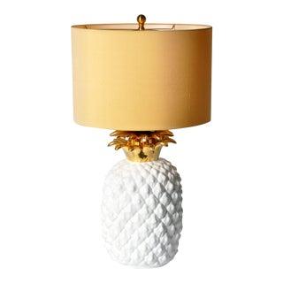 Ceramic Pineapple Lamp