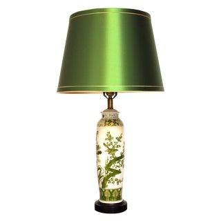 Antique Chinese Porcelain Ginger Jar Lamp