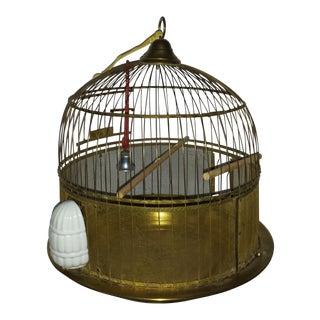 Hendryx Brass Wire Domed Bird Cage