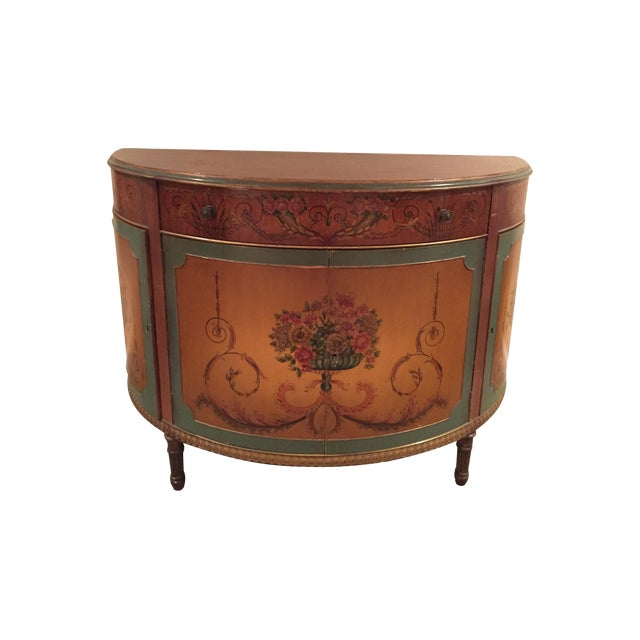 Demi lune table chairish - Table cuisine demi lune ...