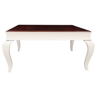 Chinoiserie Cherry Coffee Table in White