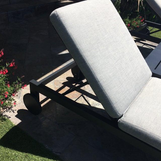 Restoration Hardware Aegean Chaises Lounge & Tables Set - Image 6 of 11